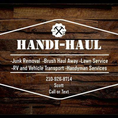 Handi-Haul - Junk and Brush Removal San Antonio, TX Thumbtack