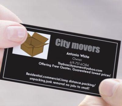 The box City Movers El Cajon, CA Thumbtack