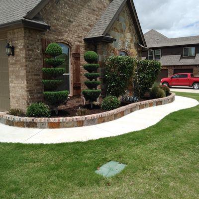 Sants landscaping service Fort Worth, TX Thumbtack