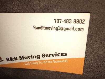 R&R Moving Services Santa Rosa, CA Thumbtack