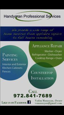 Handyman Professional Services Dallas, TX Thumbtack