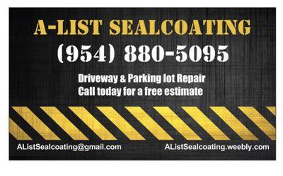 A-List Sealcoating Fort Lauderdale, FL Thumbtack