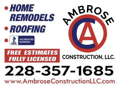 Ambrose Construction LLC Gulfport, MS Thumbtack