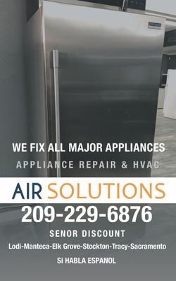 Air Solutions Appliance Repair Stockton, CA Thumbtack