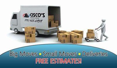 Cisco's moving services Joliet, IL Thumbtack