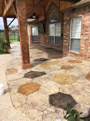 Dallas Stamped Concrete Dallas, TX Thumbtack