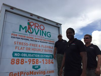 Pro Moving Solutions Fort Lauderdale, FL Thumbtack