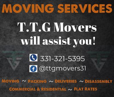T.T.G Movers Aurora, IL Thumbtack