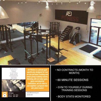 D Fitness Orange, CT Thumbtack