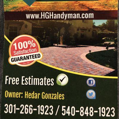 HG handyman Fredericksburg, VA Thumbtack
