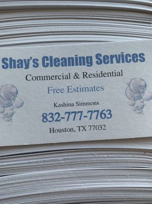 Shay's Cleaning Service Houston, TX Thumbtack