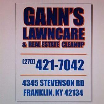 Gann's Lawncare & real estate cleanup Franklin, KY Thumbtack