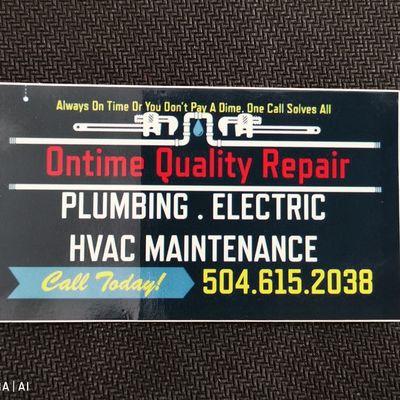 Ontime Quality Repair New Orleans, LA Thumbtack