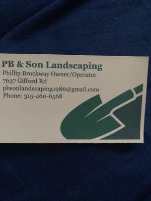 PB & Son Landscaping LLC Rome, NY Thumbtack