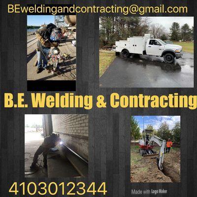 B.E. Welding & Contracting Kingsville, MD Thumbtack