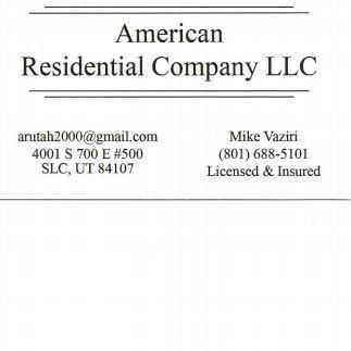 American Residential Co Llc Salt Lake City, UT Thumbtack