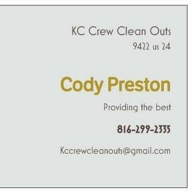 Kc crew cleanouts Independence, MO Thumbtack