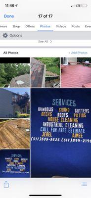 A&J Window/Power Washing LLC. Holt, MI Thumbtack