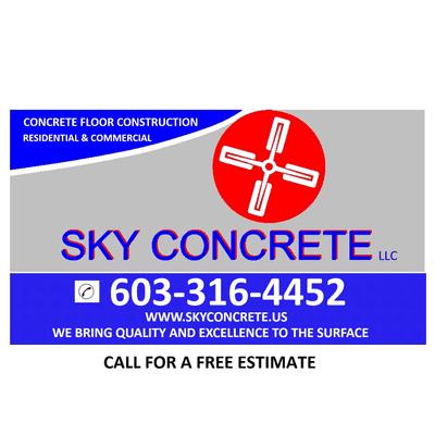 Sky Concrete, LLC New Ipswich, NH Thumbtack