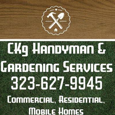 CK9 Handyman & Gardening Services El Monte, CA Thumbtack