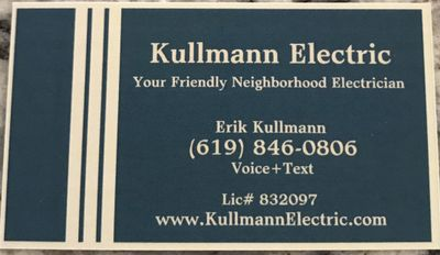 Kullmann Electric San Diego, CA Thumbtack