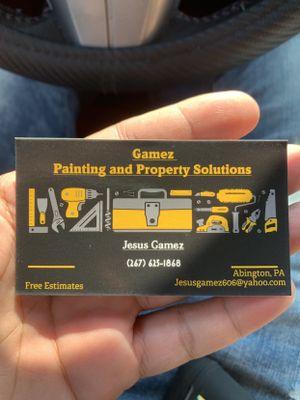 Gamez construcción Willow Grove, PA Thumbtack