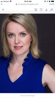 Frances Saxton MFA coach for actors Williamsburg, VA Thumbtack