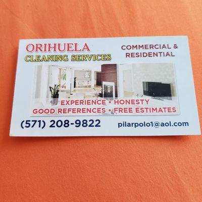 Orihuela cleaning Service's Manassas, VA Thumbtack