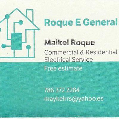 Roque E General Service Corp. Hialeah, FL Thumbtack