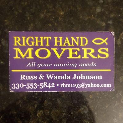 Right Hand Movers Girard, OH Thumbtack