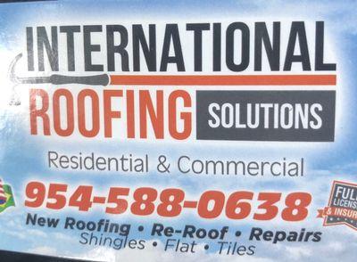 International Roofing Solutions Pompano Beach, FL Thumbtack