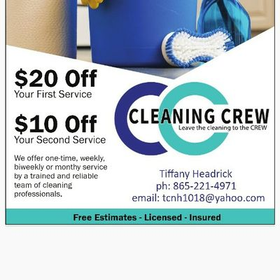 Cleaning Crew Knoxville, TN Thumbtack