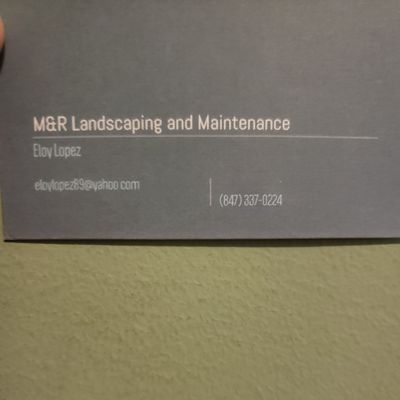 M. R lanscaping and  maintenance Lake In The Hills, IL Thumbtack
