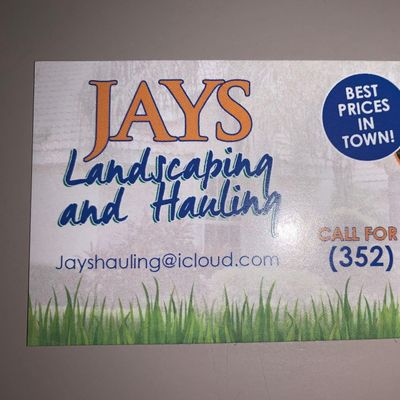 Jay's Landscaping & Hauling Spring Hill, FL Thumbtack