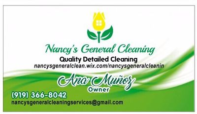 Nancy's General Cleaning Services Durham, NC Thumbtack