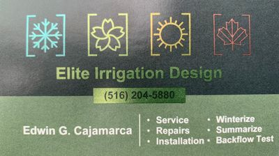 Elite Irrigation Westbury, NY Thumbtack