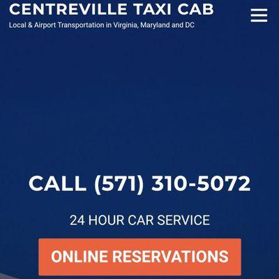 Centreville taxi cab Centreville, VA Thumbtack