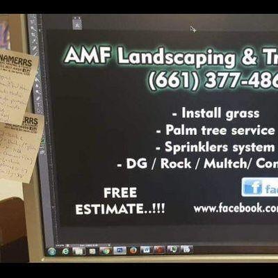 AMF Landscaping & Tree Service Perris, CA Thumbtack