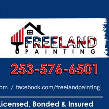 Freeland painting Tacoma, WA Thumbtack
