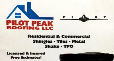 Pilot Peak Roofing LLC Magna, UT Thumbtack