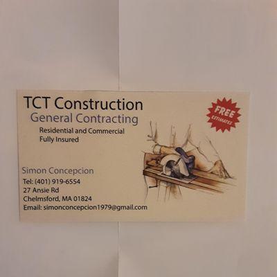 TCT Construction Methuen, MA Thumbtack