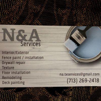 N&A Services DFW Dallas, TX Thumbtack