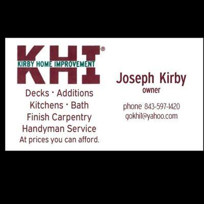 Kirby Home Improvement LLC Conway, SC Thumbtack